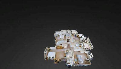 Detached four bedroom property near Bath 3D Model